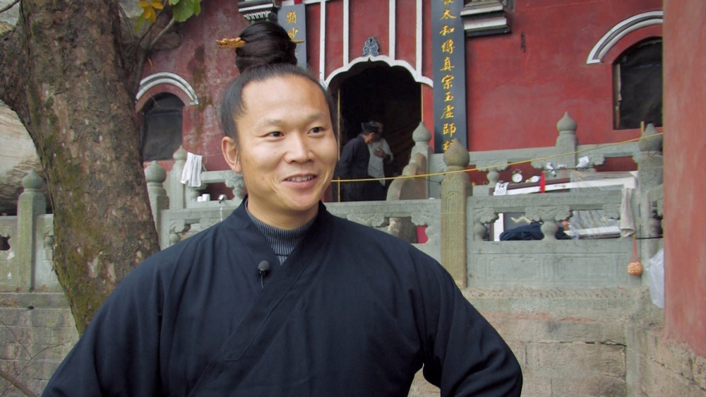 Kung Fu master Yuan Limin